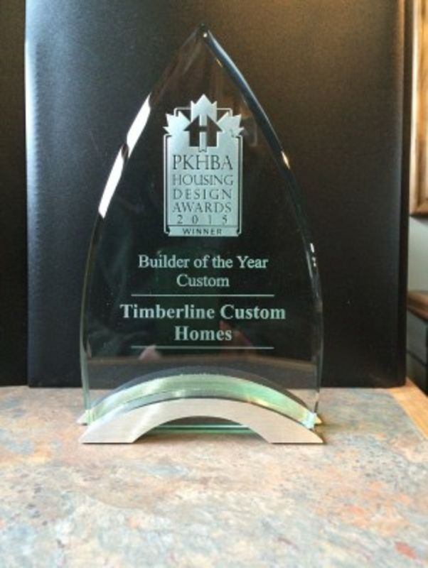 Timberline Custom Homes Award